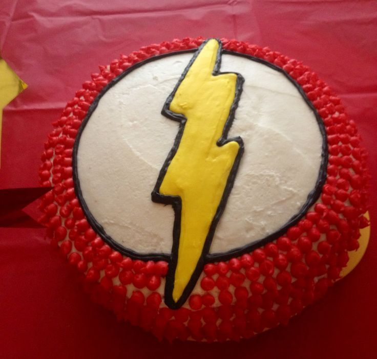 I Made This Flash Cake For My Son With The Help Of My