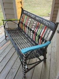 1000+ images about bench painting on Pinterest | Outdoor ...