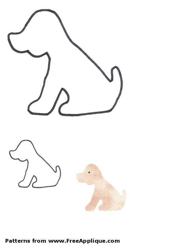 116 best images about Dog Templates and Patterns on