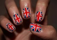 17 Best ideas about British Flag Nails on Pinterest | Flag ...