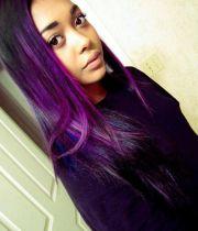 purple hair african americans