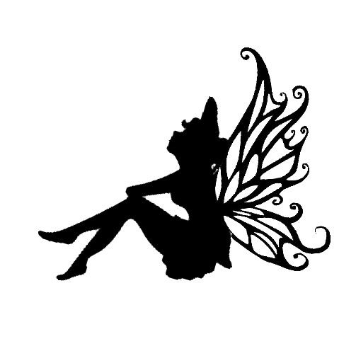 80 best images about Fairy Silhouettes on Pinterest