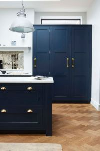 25+ best Dark blue kitchens ideas on Pinterest