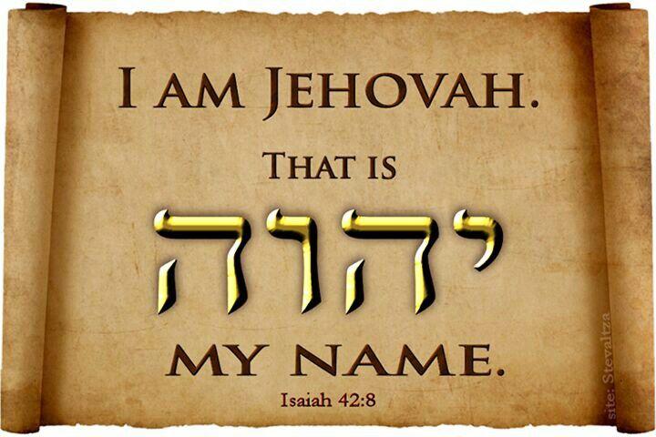 Isaiah 42:8 | Inspirational | Pinterest | Jehovah Names ...
