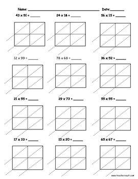 Image Result For 2 Digit Multiplication Worksheets With Decimals