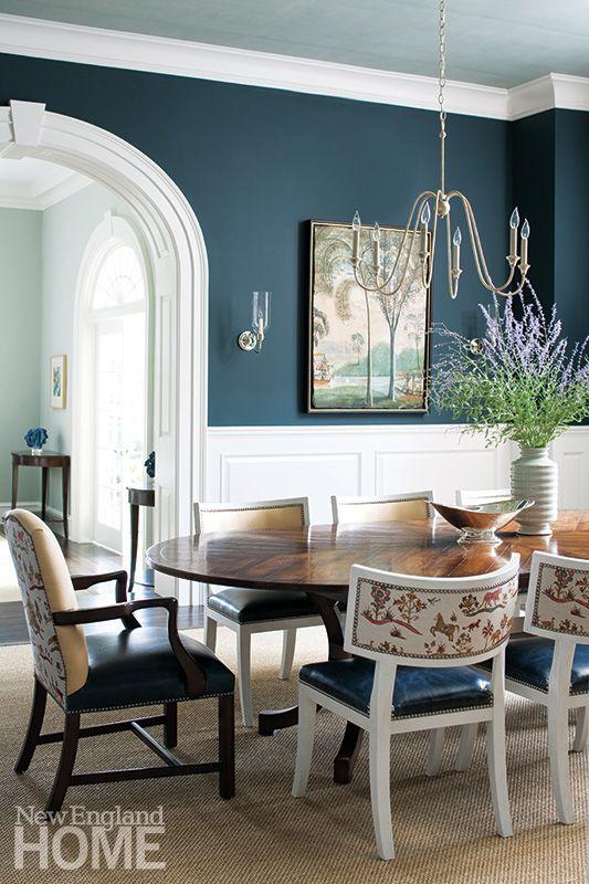 Dining Room Blue Paint Ideas  Wwwimgkid  The Image