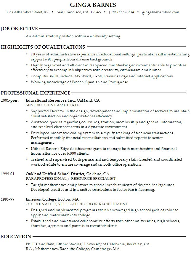 how to write a reference list for resume