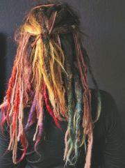 colored dreads ideas