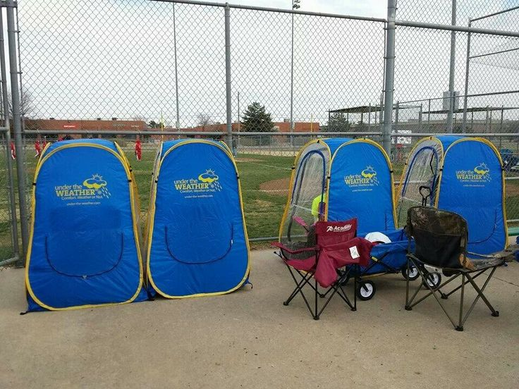 Sports tent undertheweathercom  Neat  Pinterest