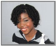 black natural hair styles two strand