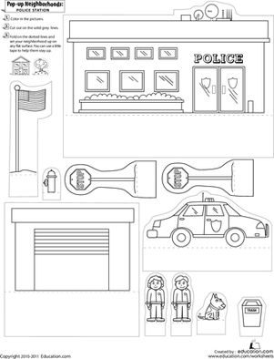 25+ best ideas about Police Crafts on Pinterest