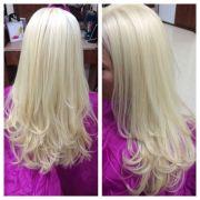 platinum blonde. bleach
