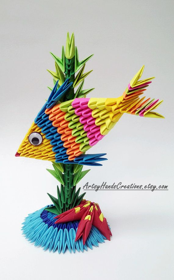 cool modular origami diagram trailer 7 pin flat wiring 17 best ideas about fish on pinterest | paper folding, and diy