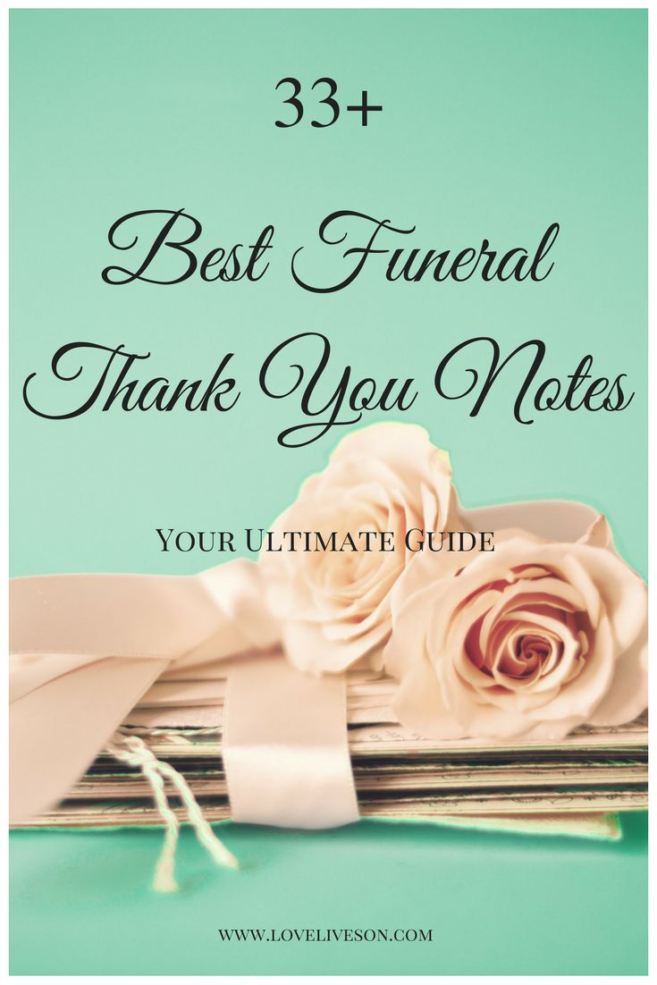 Cards Thank Flowers You Funeral