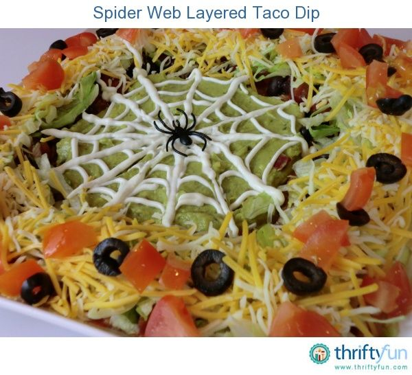 Layered taco dip is easy to make and is a great snack to serve at a party. This sp