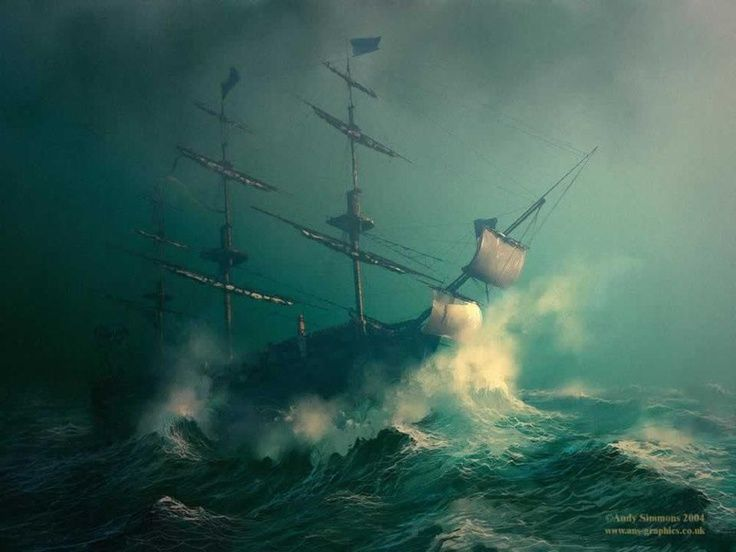 Tall Ships Stormy Seas Via Nijole King All Your