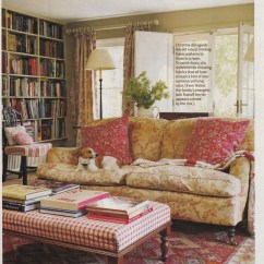 English Arm Sofa Restoration Hardware Concrete Chesterfield Hydrangea Hill Cottage: The Home And Designs Of Christina ...