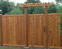 17+ images about driveway fence on Pinterest | Wooden ...