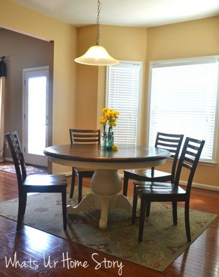 kitchen makeover ideas narrow depth cabinets chalk paint table | stains, pedestal and the o'jays