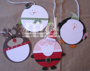 Holiday Tags by Monika Davis Stampin' Up! – with a tutorial