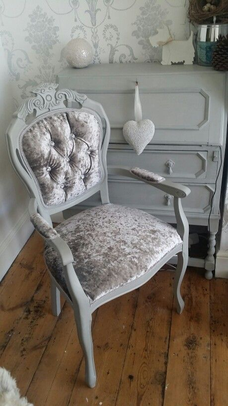 17 Best images about Vintage Chic Home occasional chairs