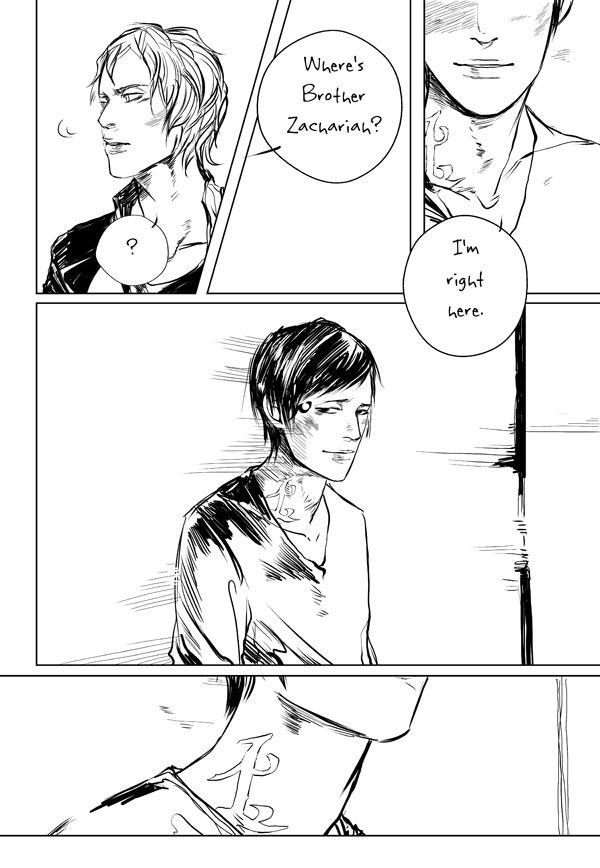 Goodbye Brother Zachariah page 2 Drawn by Cassandra