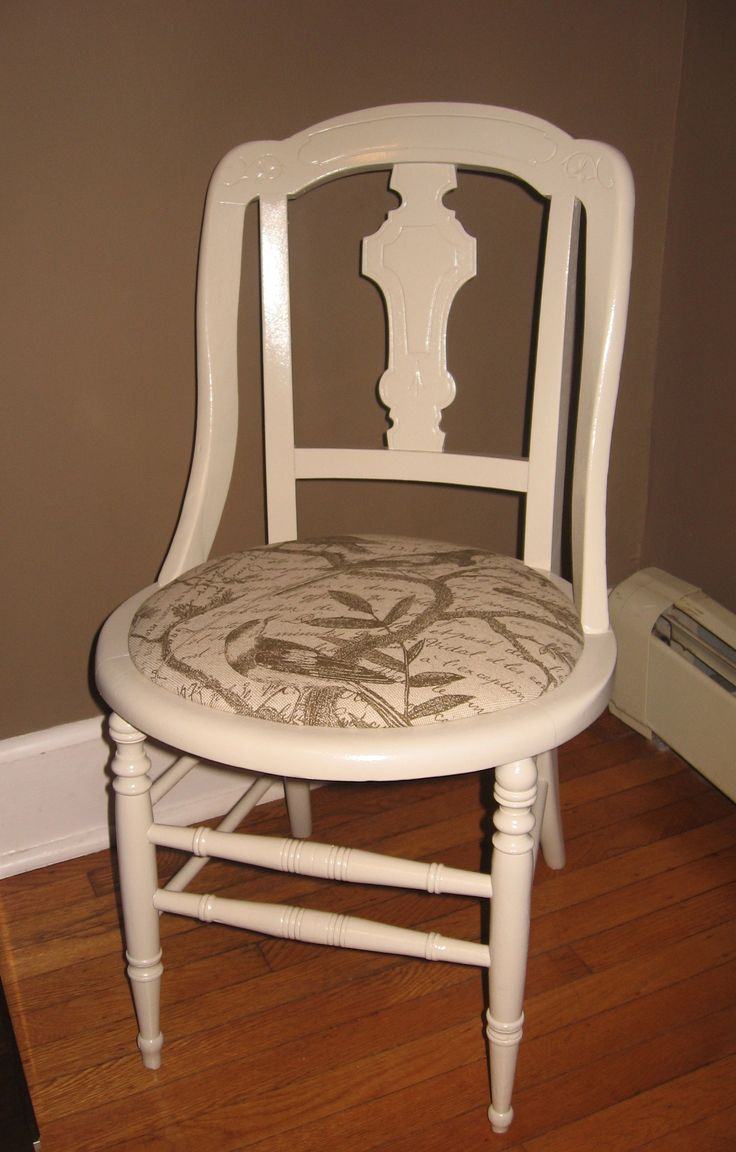 How to remove a broken cane seat and create a new upholstered seat for an old chair  diy ideas
