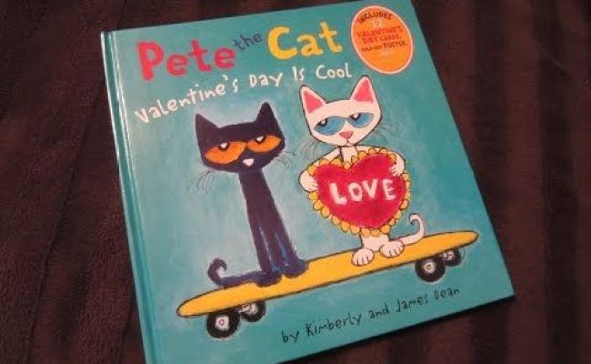 Pete The Cat Valentine S Day Is Cool Children S Read Along
