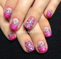 sweet 16 nails , glamour nails | GLAMOUR NAILS | Pinterest