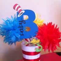 Dr Seuss Baby Shower Centerpiece   Centerpiece Ideas hummm ...