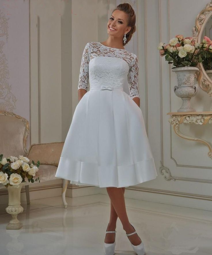 17 Best images about Short Wedding dress on Pinterest  Beach wedding dresses Short wedding