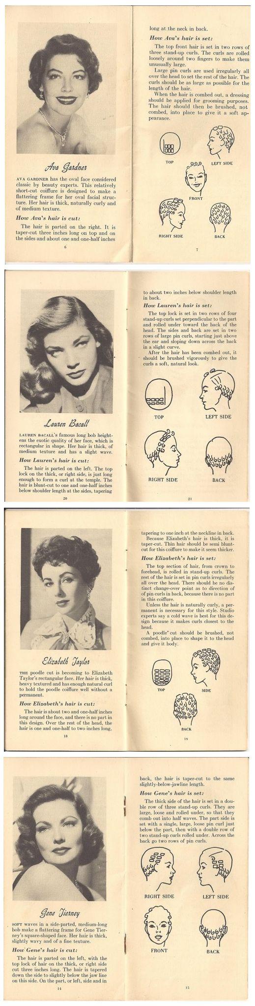 vintage pin curls diagram hydrolysis reaction aux belles choses: pinspiration monday - hair