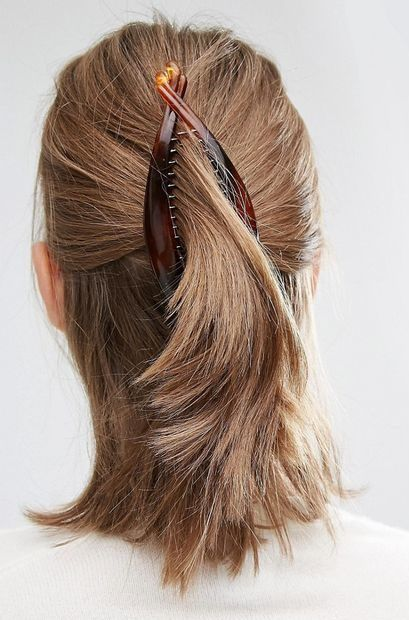 17 Best Ideas About Banana Clip Hairstyles On Pinterest