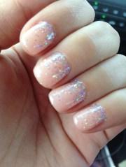 wedding nails.opi gel color