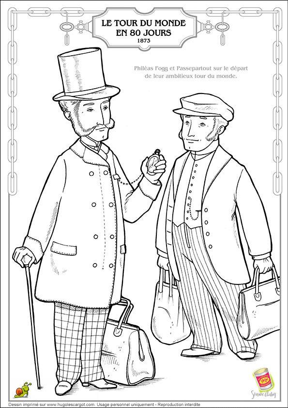 Jules Verne Tour Du Monde En 80 Jours, page 12 sur 13 sur
