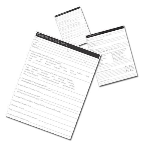 Client Phone Intake Form 5 Essential Client Forms for