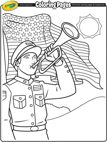 17 Best ideas about Memorial Day Coloring Pages on