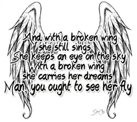 Broken Angel Quotes. QuotesGram