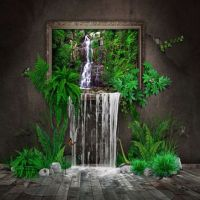 17 Best images about waterfall wall deco!!! :-) on ...
