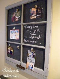 1000+ ideas about Chalkboard Window on Pinterest | Old ...