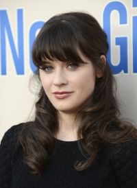 zooey deschanel natural hair color - Google Search | Fun ...