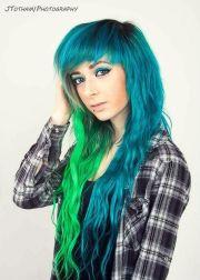 dyed hair don't care. dye hard
