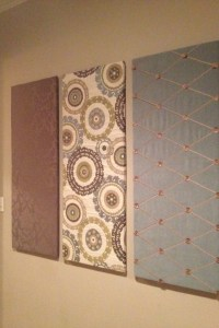 17 Best images about Fabric Wall Panels on Pinterest ...