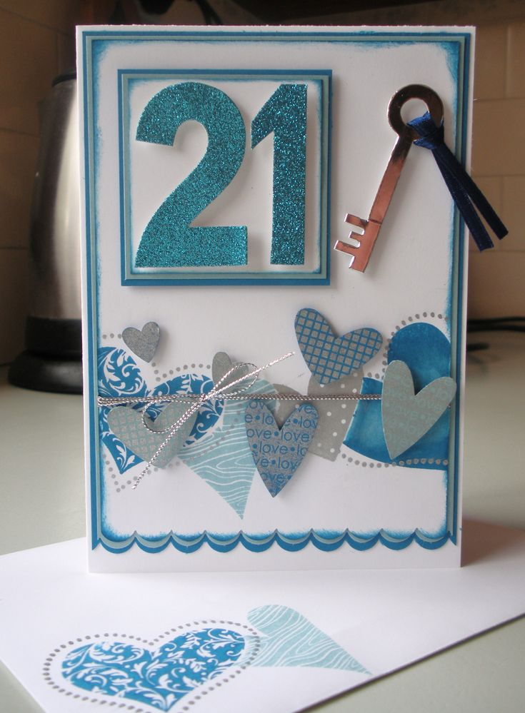 25 Best Ideas About 21st Birthday Cards On Pinterest 21