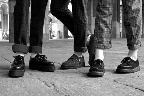 1950s  Brothel Creepers  Worn by Teddy Boys