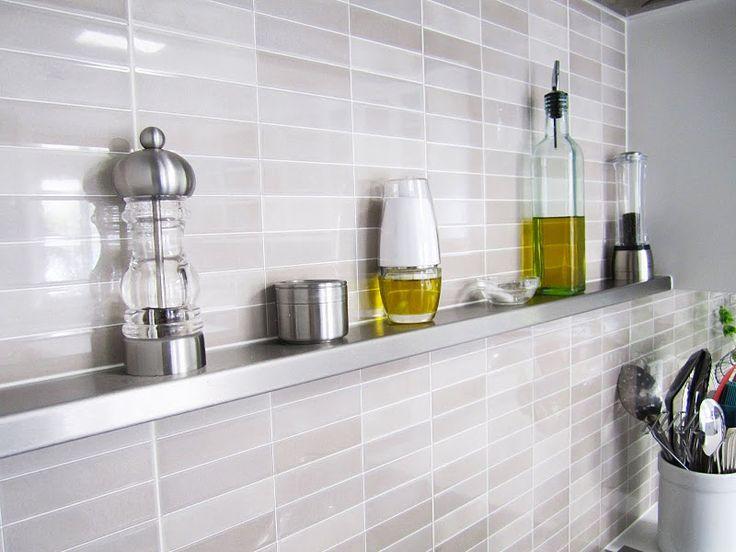 Metal Spice Shelf Behind Stove Kitchen Pinterest