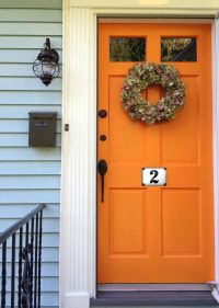 17+ best ideas about Orange Front Doors on Pinterest ...