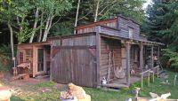 Backyard Saloon, firewood shed, chicken coop... http://www ...