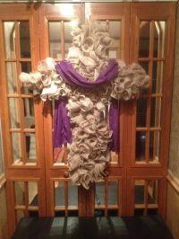 1000+ ideas about Cross Wreath on Pinterest | Wreaths ...