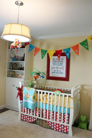 25+ Best Ideas About Primary Color Nursery On Pinterest